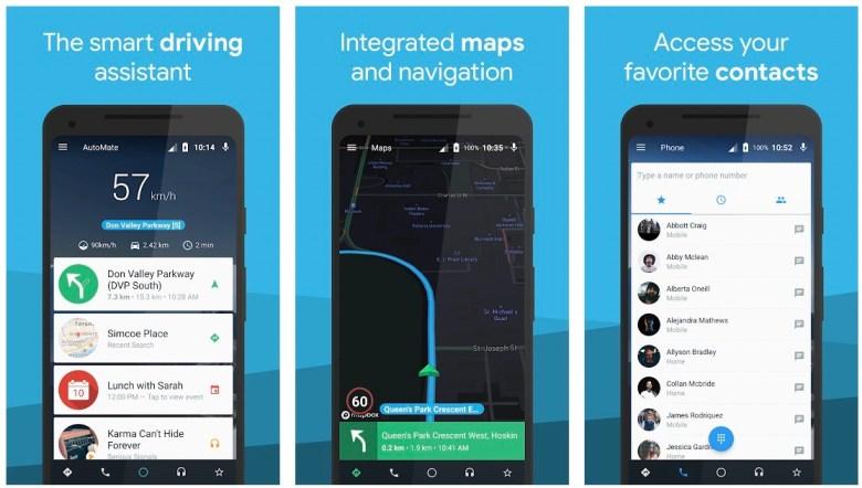 Best MirrorLink Apps: AutoMate