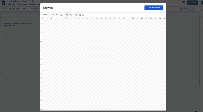 Insert image of patterned border to enhance your creation