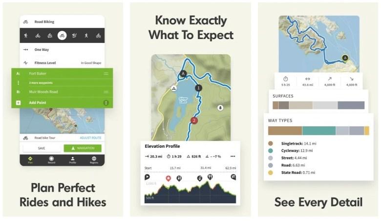 Best Hiking Apps: Komoot