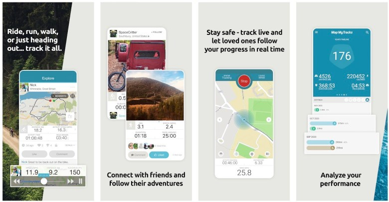 Best Hiking Apps: Map My Tracks