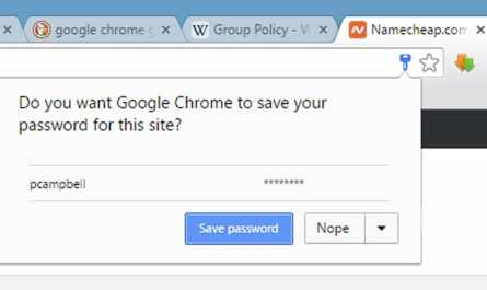 How to Save Password in Chrome When Not Asked