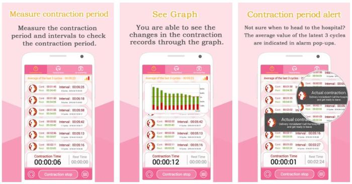 Contraction Timer by HappyTree