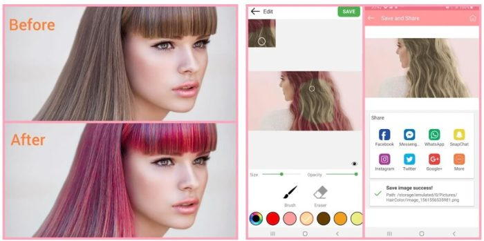 Hair Color Changer by Luckystars Studio