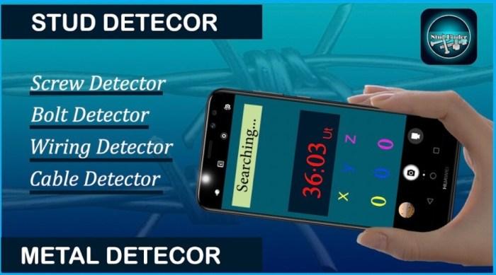 Stud Detector Nut Finder