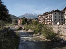 Arrival in Aosta