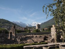 Roman Ruins in Aosta