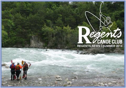 Regents Canoe Club newsletter summer 2014