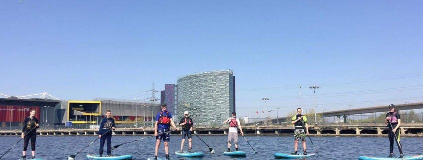 'Coaching Matters' course at the Sea Cadets base in the Royal Albert docks in East London