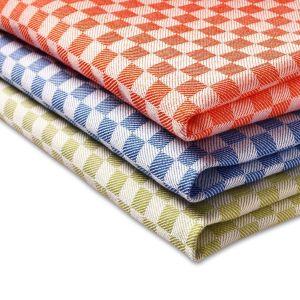 Kitchen Classic Jacquard Tea Towels Set of 2 Kitchen Cloth 45 x 70cm - quick-cleaning-supplies