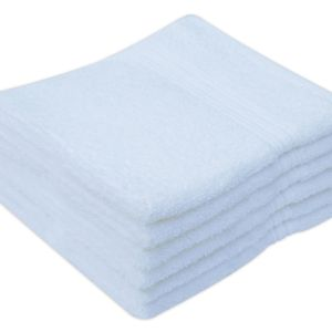 100% Cotton Face Cloths Towels, Pack of 12 - quick-cleaning-supplies