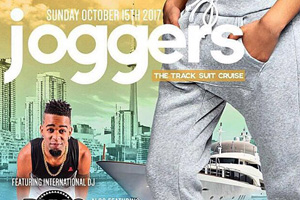 JOGGERS ~ The Track Suit Cruise On Board the Empress Of Canada 2 PM Board Time Sunday October 15th