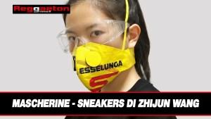 Mascherine – sneakers di Zhijun Wang