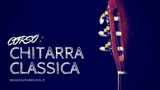 Corso di chitarra classica reggio emilia