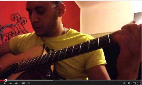 Atholl Highlanders – allievo di chitarra acustica della scuola RGS