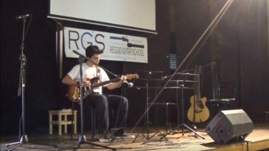 Video del saggio di chitarra RGS 2016