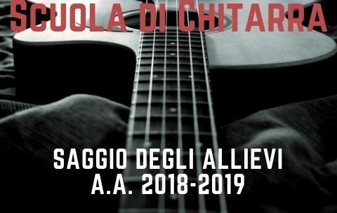 Saggio di chitarra 2019 Reggio Emilia
