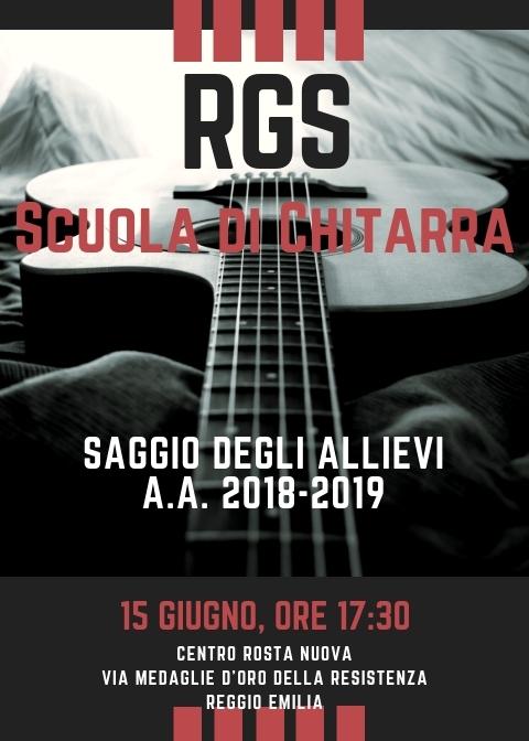 Locandina Saggio Chitarra 2019