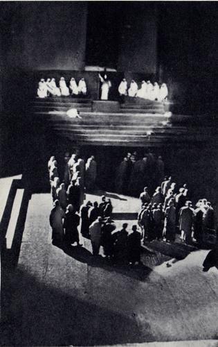 Oedipe de Sophocle, Berlin 1910