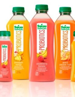 jus de fruit aux probiotiques