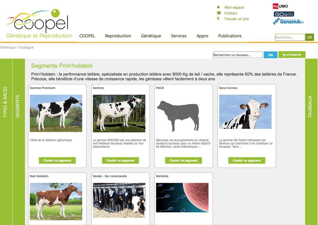 Catalogue génétique COOPEL