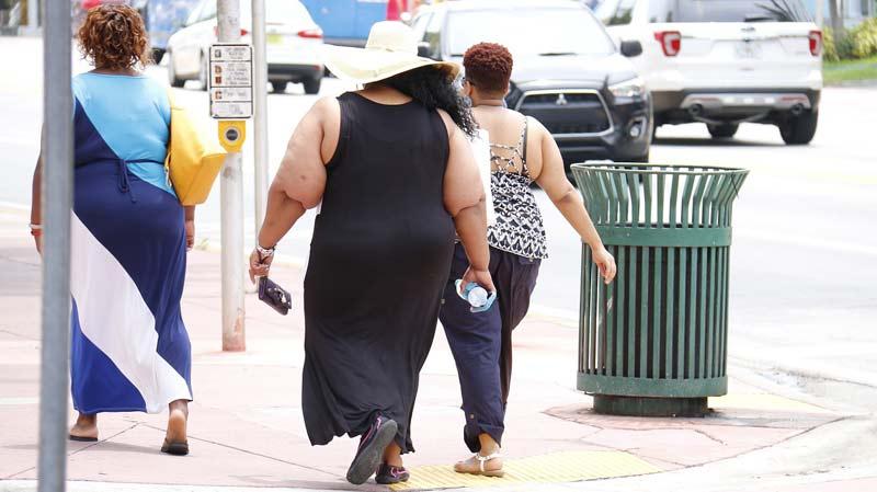 Femmes américaines en situation d'obésité