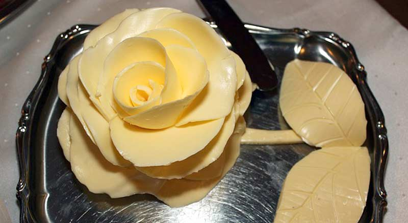 Fleur en beurre