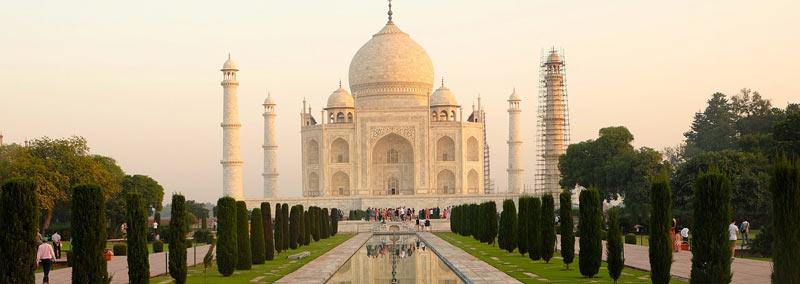 Photographie du Taj Mahal