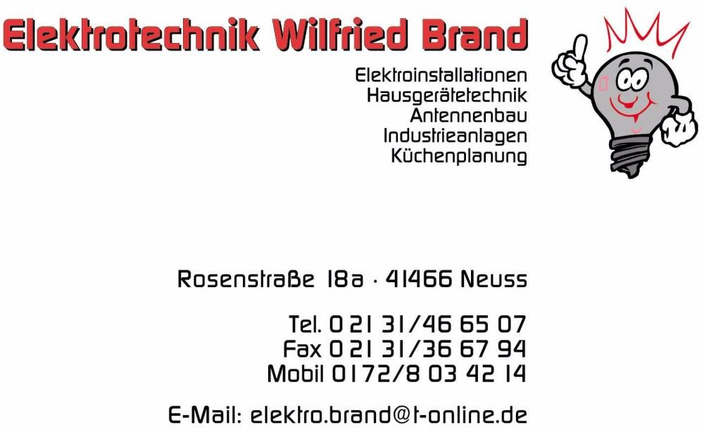 Elektrotechnik Wilfried Brand