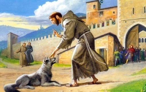preghiera semplice san francesco