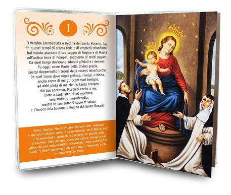libretto novena madonna santa vergine di pompei