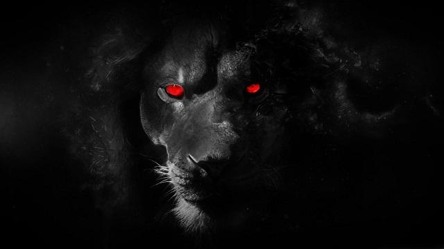 il demonio come leone ruggente