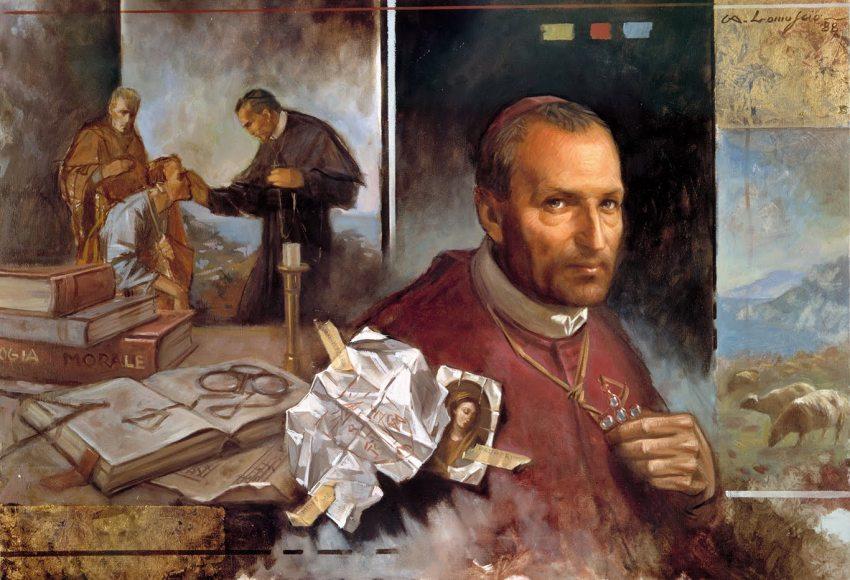 sant'Alfonso e il rosario