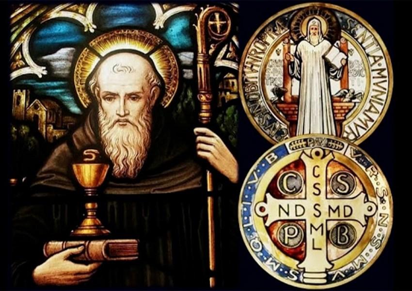 Il vero significato della medaglia e croce di S. Benedetto