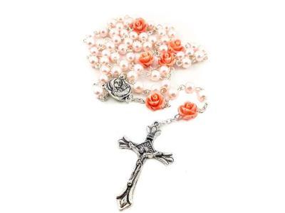 corona del santo rosario di perle