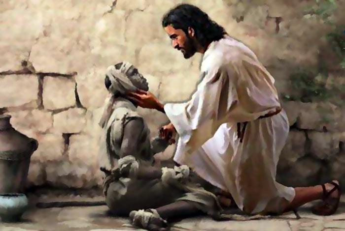 ai piedi di Gesù