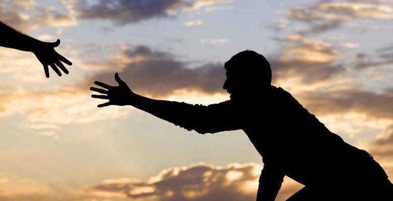 non ti perdere di coraggio, non ti devi scoraggiare mai
