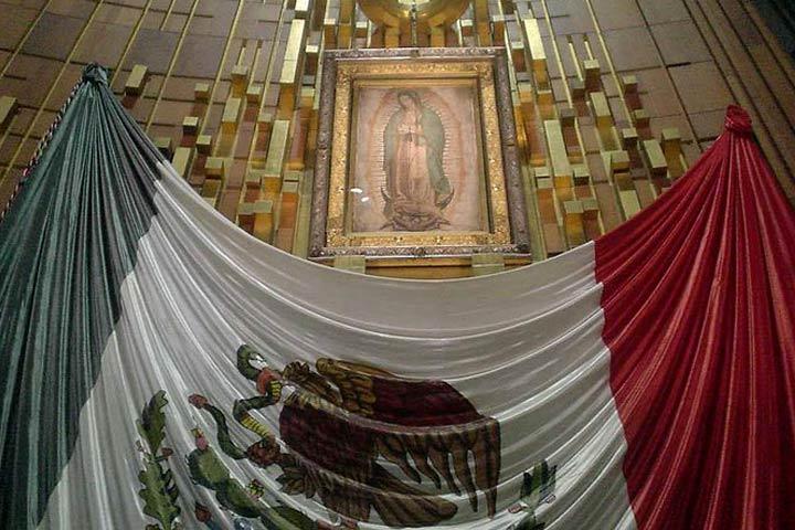 L'immagine della Madonna di Guadalupe