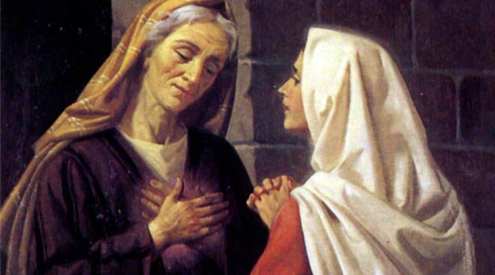 La visita di Maria ad Elisabetta