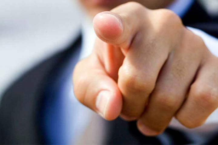 Accusare i propri peccati: il diavolo è il primo a puntare il dito