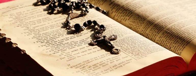 Santo Rosario schema Biblico misteri della gioia