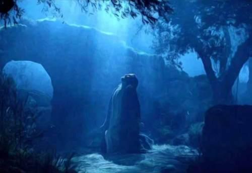 Andare a trovare Gesù nel Getsemani