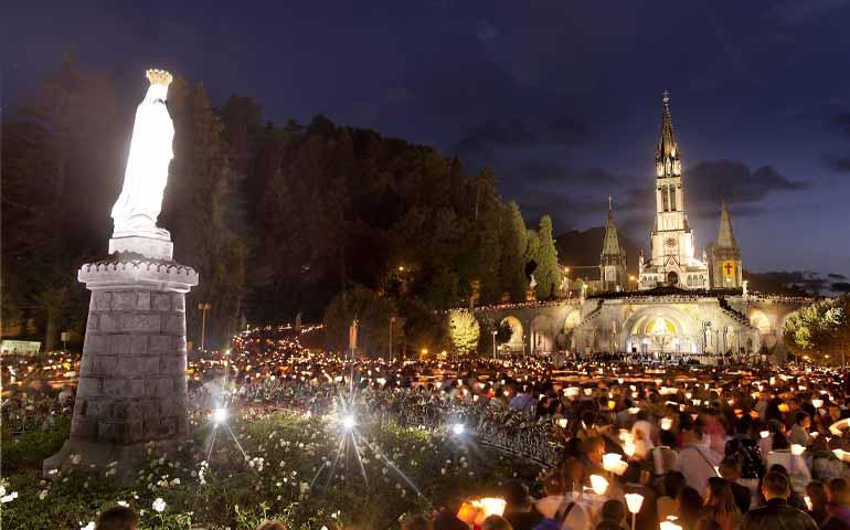 Ora ci vedo grazie alla Madonna di Lourdes