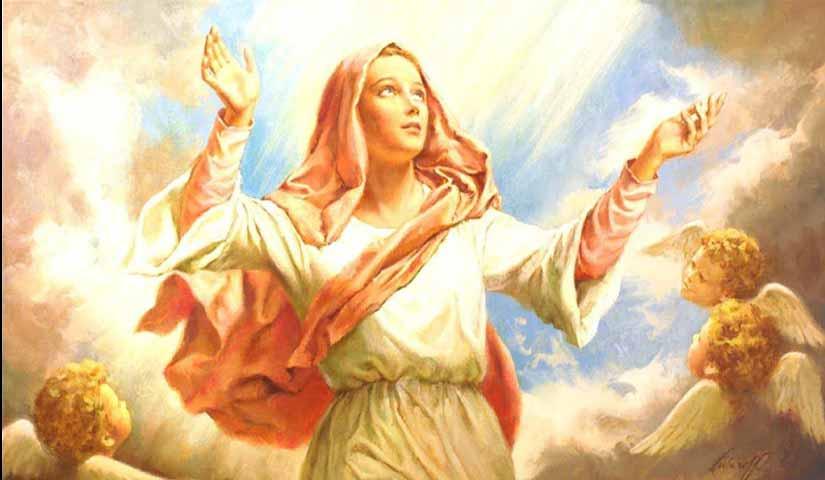Diciassettesimo sabato della Regina del Rosario: Maria assunta in cielo