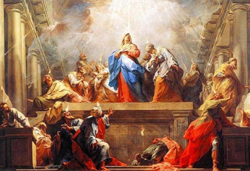 Diciottesimo sabato alla Regina del rosario: La discesa dello Spirito Santo