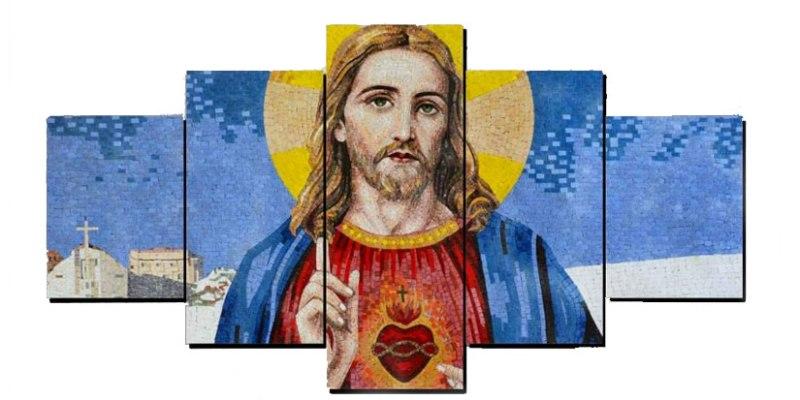 quadro sacro cuore di Gesù