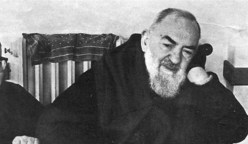grazie a Padre Pio