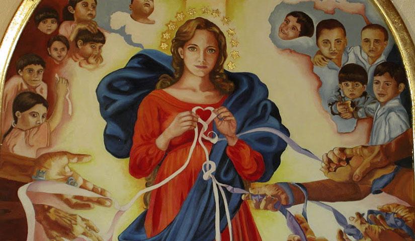 Supplica a Maria che scioglie i nodi