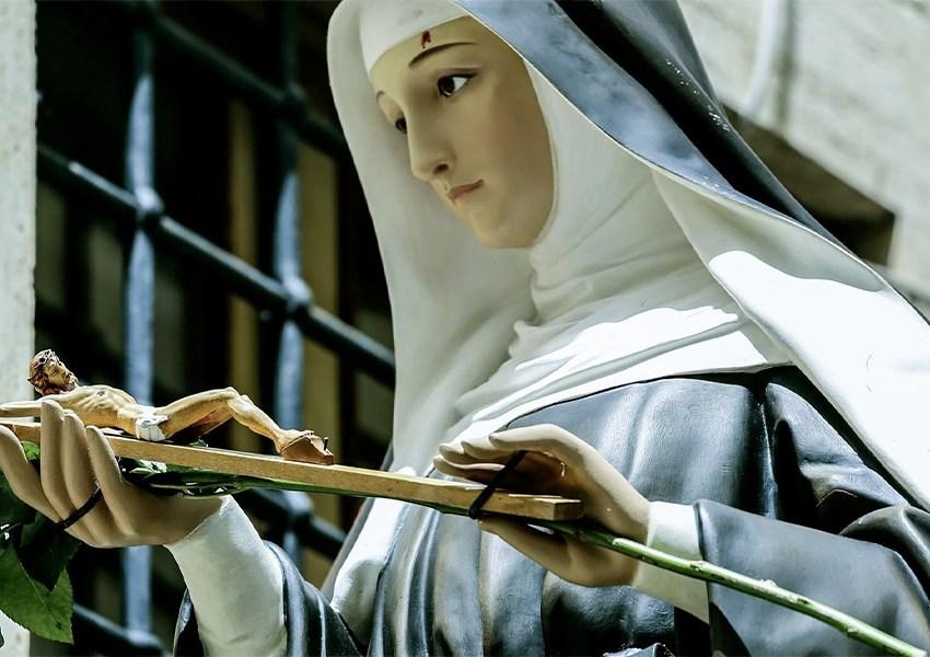 I santi ci scelgono per essere nostri protettori, non noi scegliamo loro