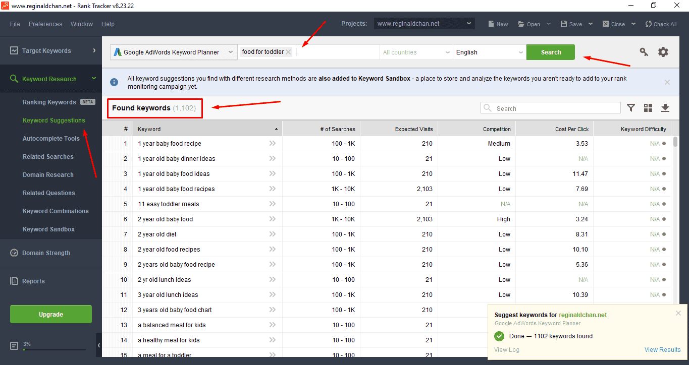 Fast-Keyword-Research-With-Rank-Tracker How To Do Keyword Research Fast? SEO