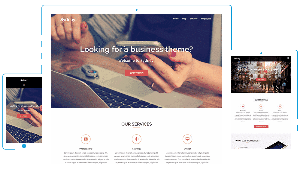 Sydney-Free-WP-Theme What is the best and free WordPress themes 2019? Online Marketing WordPress